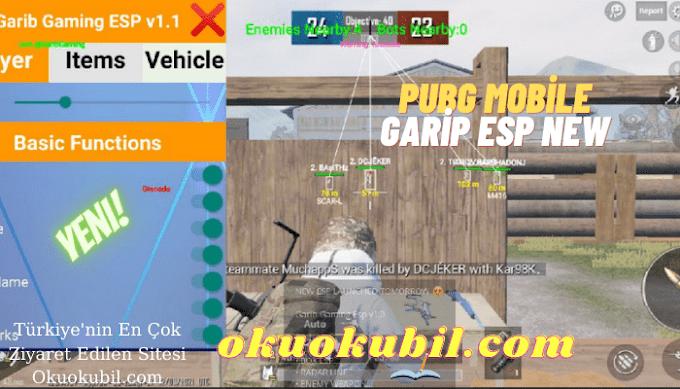 Pubg Mobile Garib ESP Menü v1.1 Ban yok Güncel Hile Apk Şubat 2021