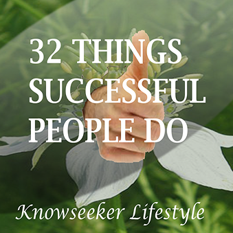 32 Things Every Successful Person Does