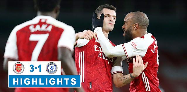 Arsenal vs Chelsea – Highlights