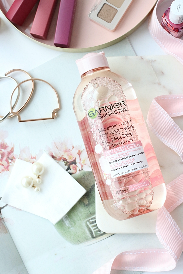 Garnier Micellar Rose Water Clean & Glow