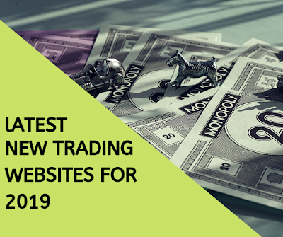Latest New Crpto Trading websites for 2019