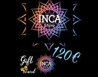 Vinci gratis Gift Card Inca Store abbigliamento da 120 euro !