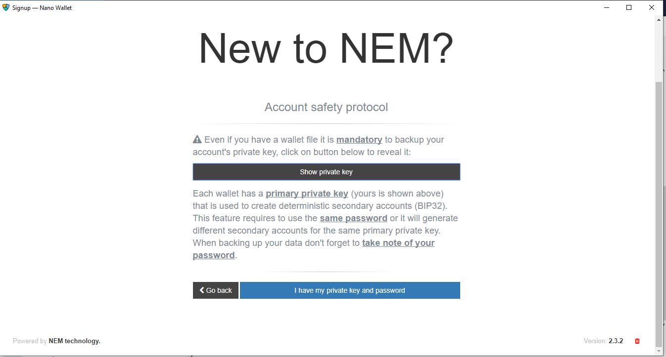 Cara Mudah Membuat Nem Address Wallet (XEM)Cara Mudah Membuat Nem Address Wallet (XEM)
