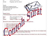 Surat Pengakuan Penerimaan Pembayaran DP Download