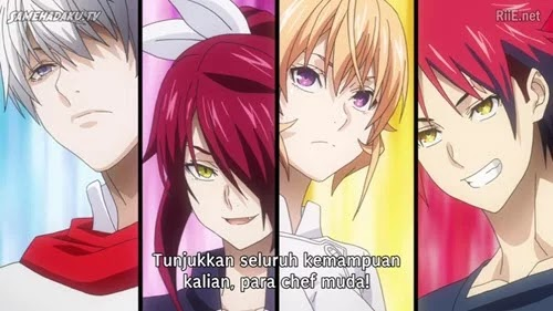 Nonton Streaming Shokugeki no Souma Season 4 Episode 9 Subtitle Indonesia