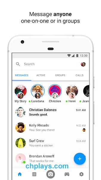 Tải Messenger cho PC, Android, IOS - Nhắn tin, gọi điện miễn phí d
