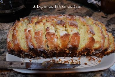 Lemon Loaf sliced