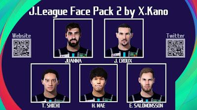 PES 2021 J. League Facepack 2 by X. Kano