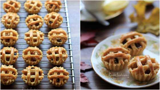 Resep Membuat Kue Kering Mini Apple Pie Kranjang, Enak, Renyah dan Bikin Nagih