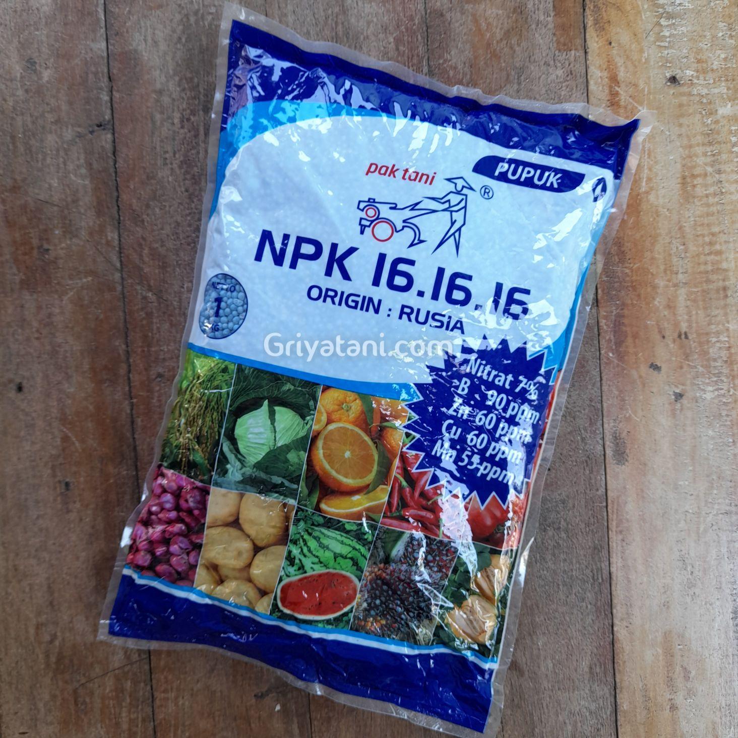 pupuk npk 161616