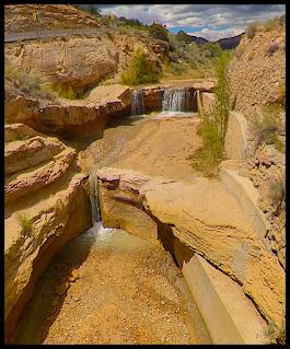 Waterfall off the road between Hells Backbone and NorthCreek