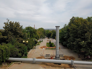 Мелітополь. Реставрація сходів