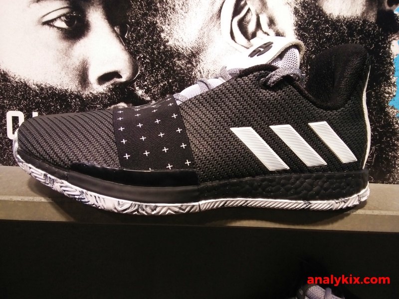 36b7729c4b5e A black colorway of the adidas Harden Vol 3 is widely available now at  adidas stores around the metro. Dubbed as