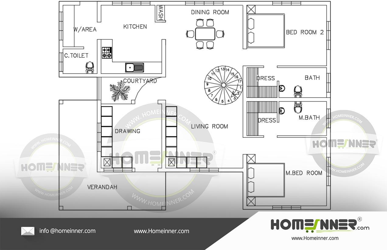 Kerala home design free download 1600 sq ft Low budget plan