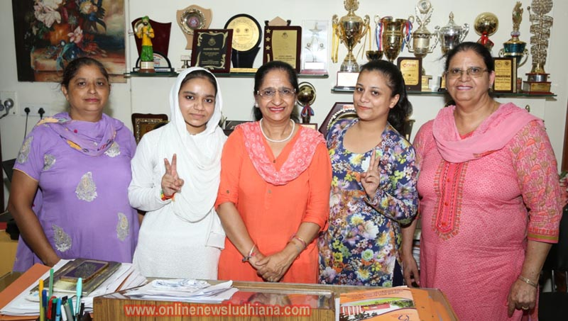 GCG Students shine in result of B.A