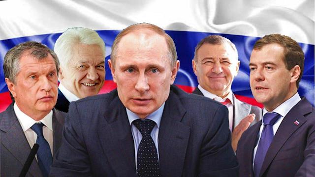 Друзья Путина: где работают, сколько зарабатывают