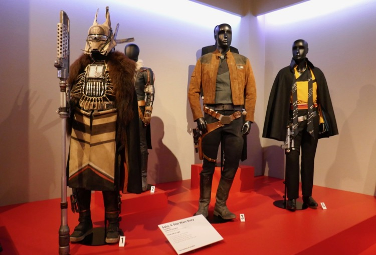 Solo A Star Wars Story movie costumes