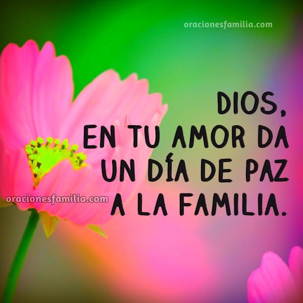 Oraciones de la mañana para la familia, bendiciones, oración corta por mis hijos, hermanos, cónyuge, padres, frases con plegaria, Dios bendice mi familia. Oración por Mery Bracho.