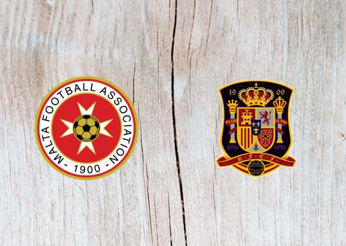 Malta vs Spain Full Match & Highlights 26 March 2019