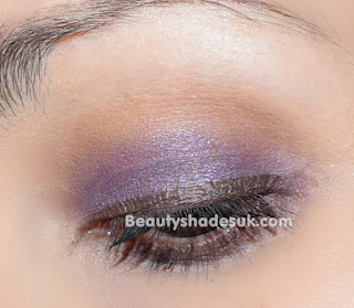 Purple and Brown Makeup Look