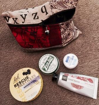 Bach Rescue Remedy, Zam-Buk, Letibalm, Rain Africa hand cream