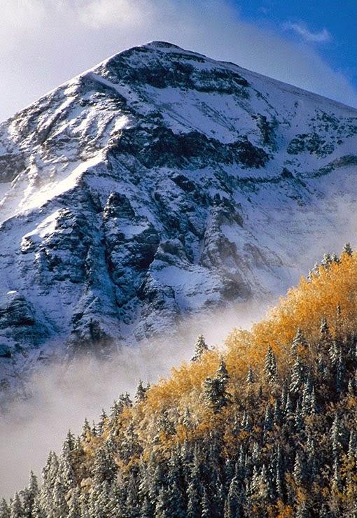 San Juan Mountains in Colorado