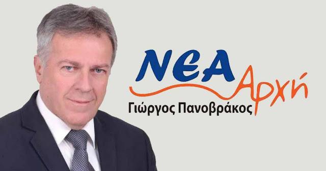 Σύντομη περιπέτεια υγείας του Γιώργου Πανοβράκου (δήλωση)