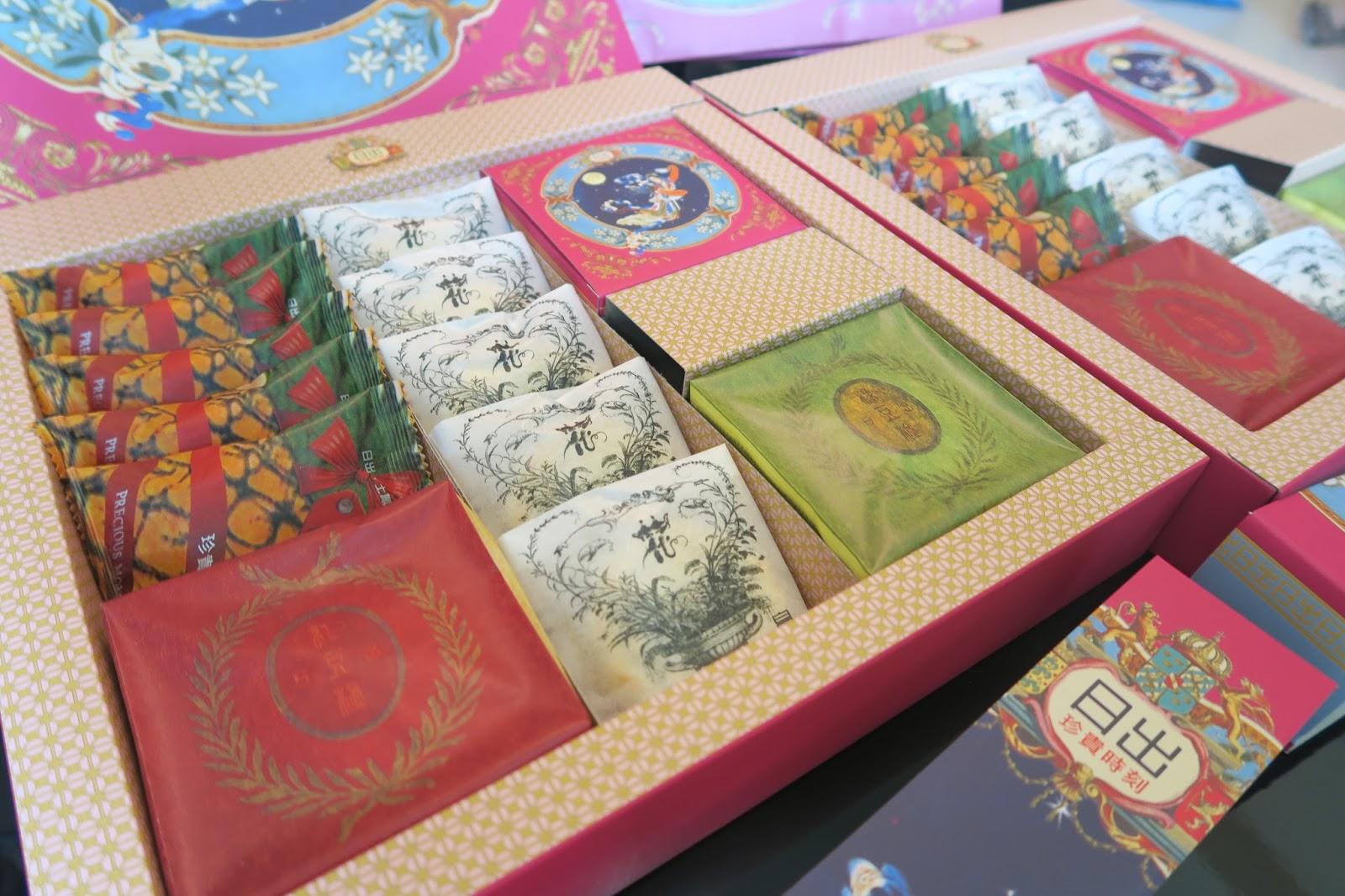 [月餅] 2015年中秋日出月餅禮盒&郭元益月餅禮盒開箱!   綜合口味