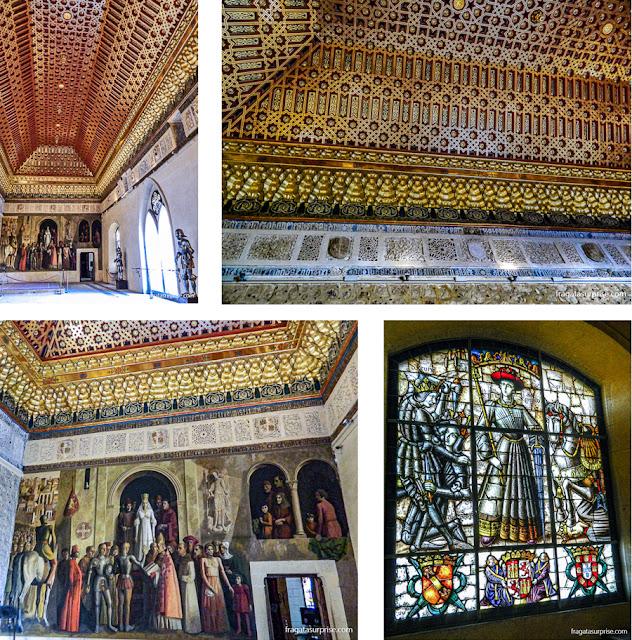 Aposentos dos reis de Castela no Alcázar de Segóvia