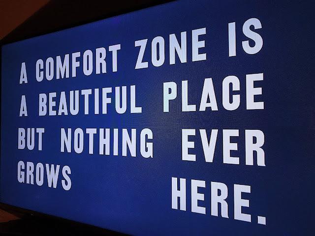 Keluar Dari Comfort Zone
