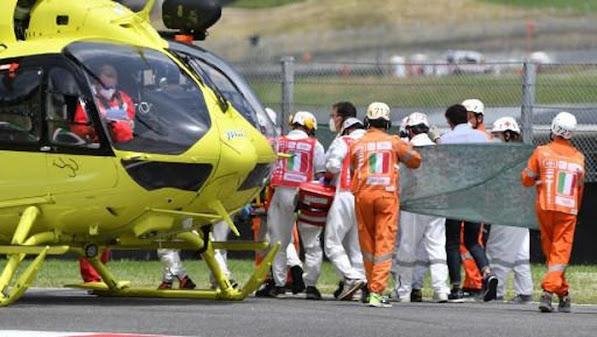 Detik-detik Kecelakaan yang Menewaskan Pebalap Moto3 Jason Dupasquier