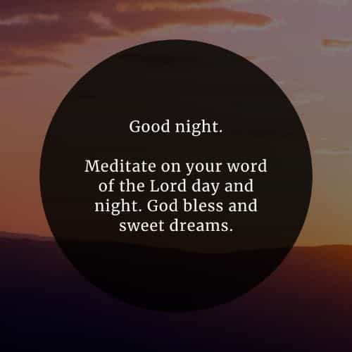 Night quotes sweet 82 Best