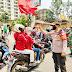 Jalur Pintas Keberangkatan Massa Serikat Buruh Se-Kota Tangerang dan Komunitas Mahasiswa yang akan tunjukkan aksi tuntutan UU Omnibus Law Cipta Kerja di Istana Negara Jakpus
