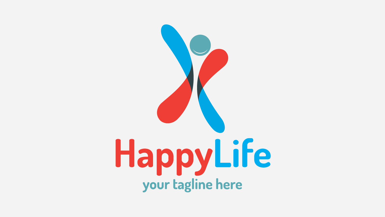 Happylife Free Logo Design Zfreegraphic Free Vector Logo Downloads