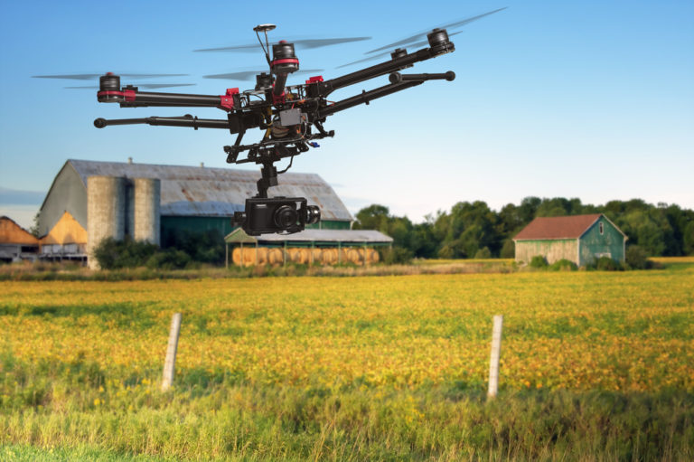 Usos de los Drones en la Agricultura y sus Ventajas