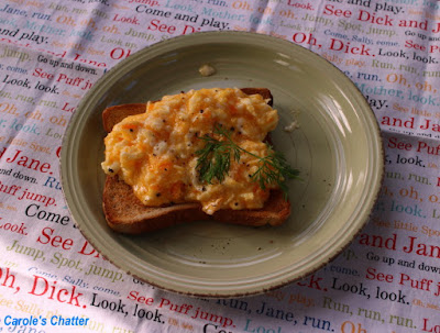 Carole's Chatter: Soft Scrambled Eggs