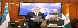 India-Uzbekistan Sign 9 Pacts