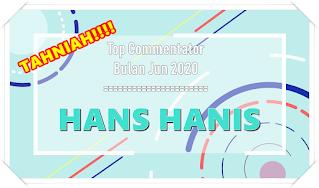Top Commentator bulan Jun 2020.. TAHNIAH..!