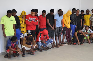 EFCC Arrests 16 Year Old, Others For Internet Fraud In Owerri (Photo)