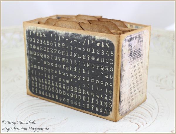 Mini-Book ATC Size Gatefold mit Anleitungslink