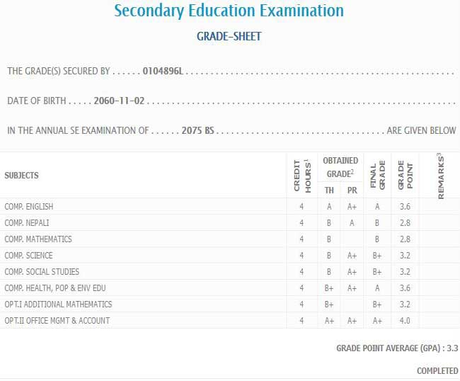 B K G | Latest News: SEE result 2076 news result exam held