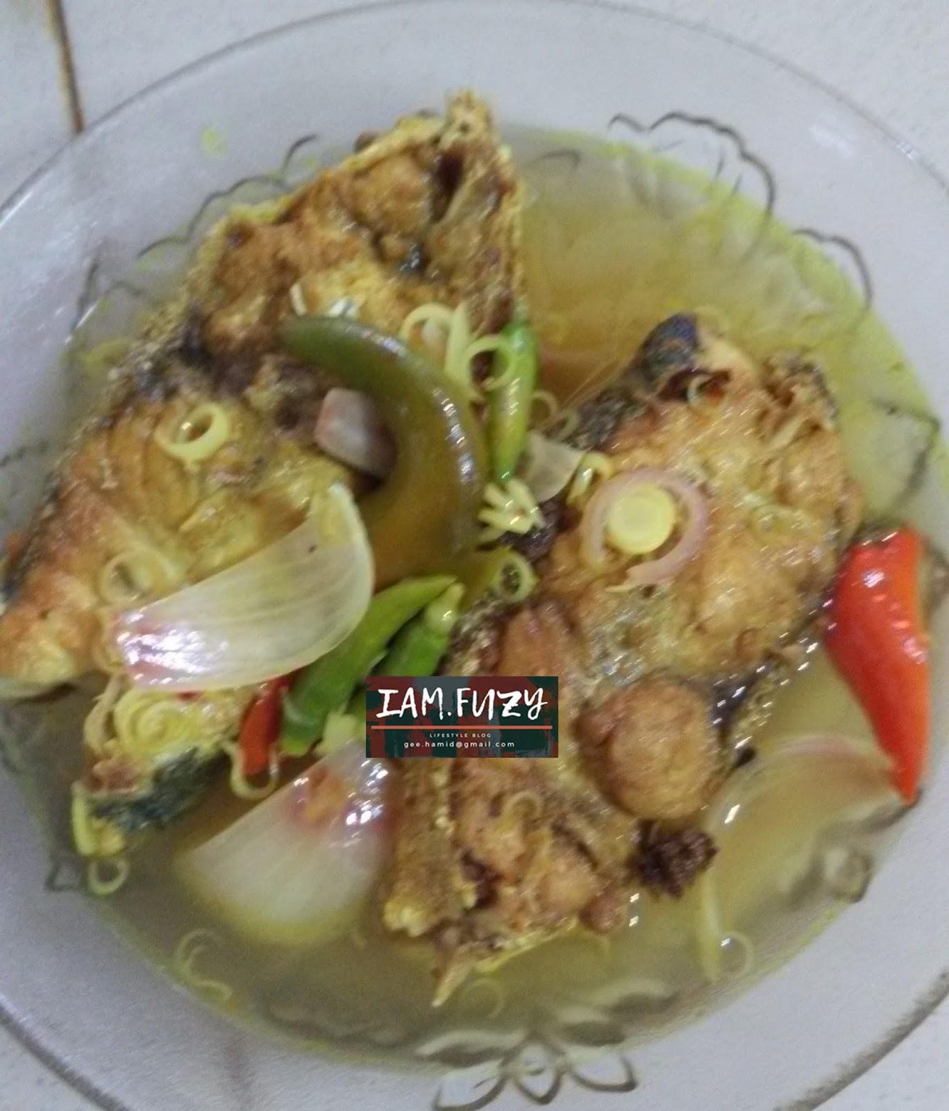resepi ikan mudah masak  sedap  memikat selera ahli keluarga cahaya hayati Resepi Singgang Ikan Belanak Enak dan Mudah