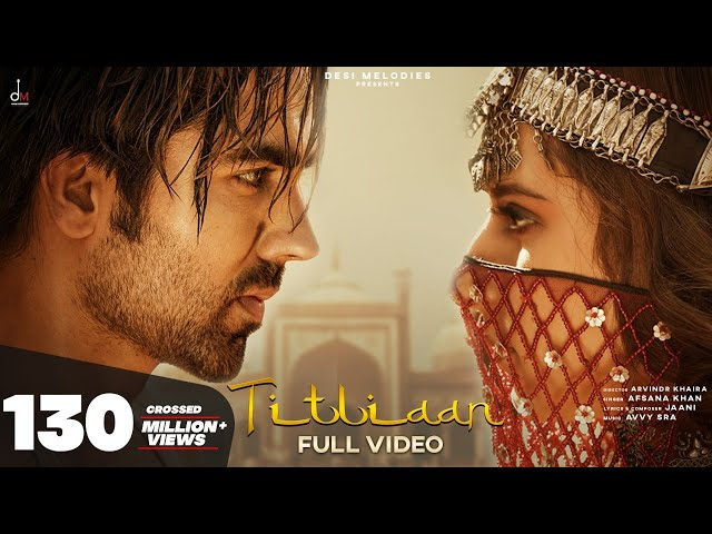 Titliaan Song Lyrics - Afsana Khan | Harrdy Sandhu, Sargun Mehta