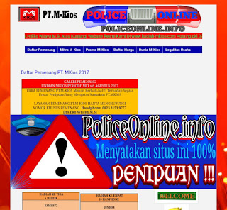 www.hadiah-mkios.com 100% Penipuan undian m-kios
