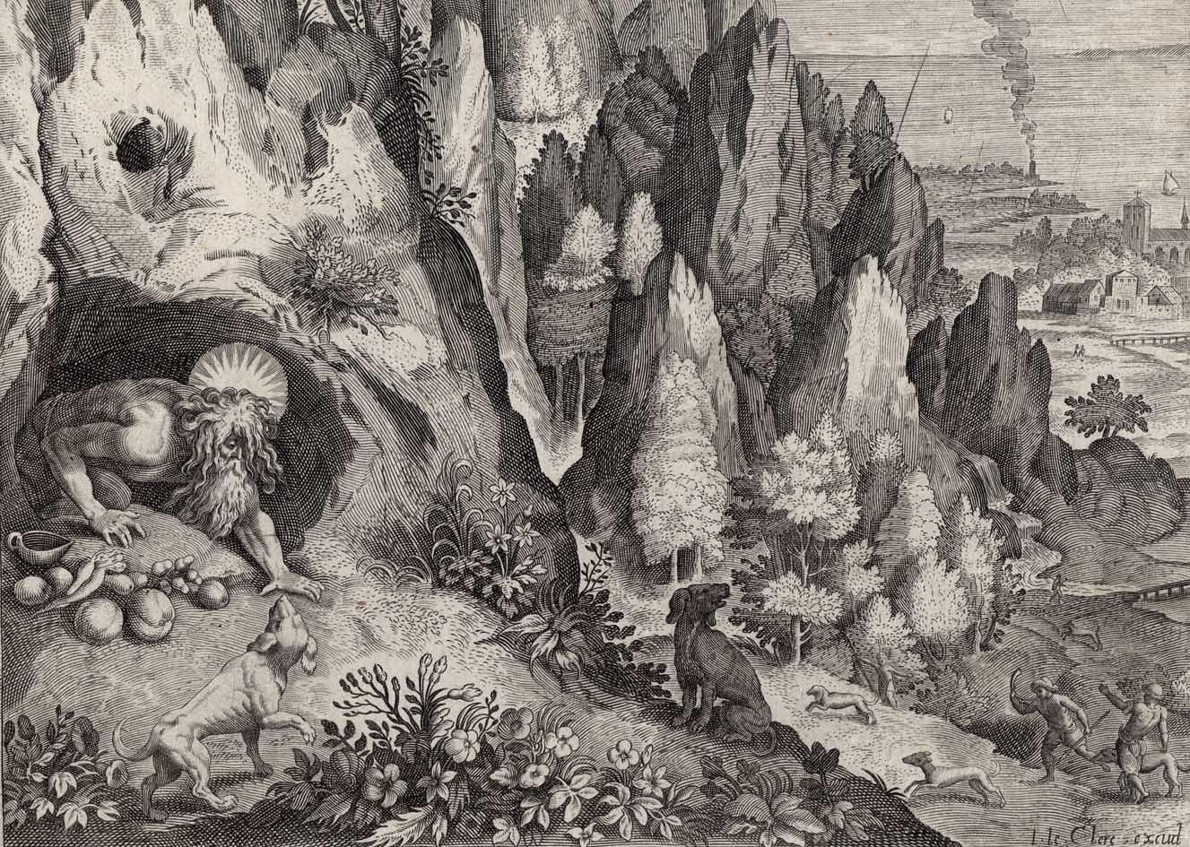Prints And Principles Engraving After Raphael Sadeler S Saint