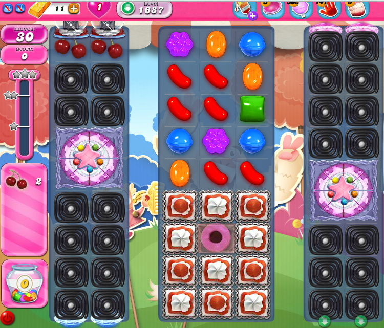 Candy Crush Saga 1687