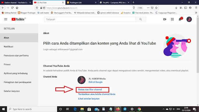 Cara menyembunyikan jumlah subscriber pada channel Youtube