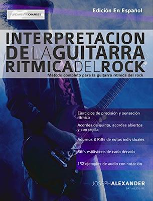 Método de guitarra rítmica del rock