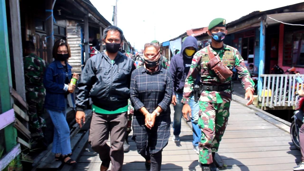 Penyeludup Sabu-sabu dari Malaysia Disergap Satgas Yonarhanud 16 Kostrad