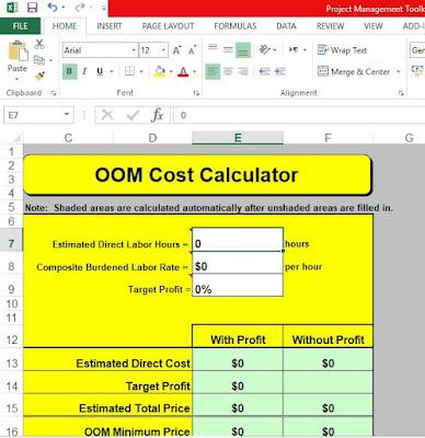 OOM Cost Calculator